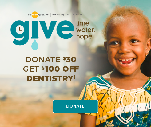 Donate $30, Get $100 Off Dentistry - Deer Springs Modern Dentistry and Orthodontics